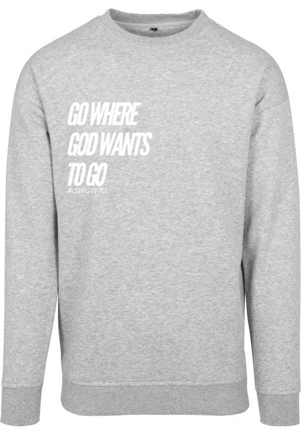 GWGWTG Sweater Grey Frontside