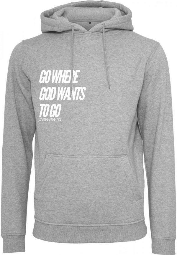 GWGWTG Hoodie Grey Frontside