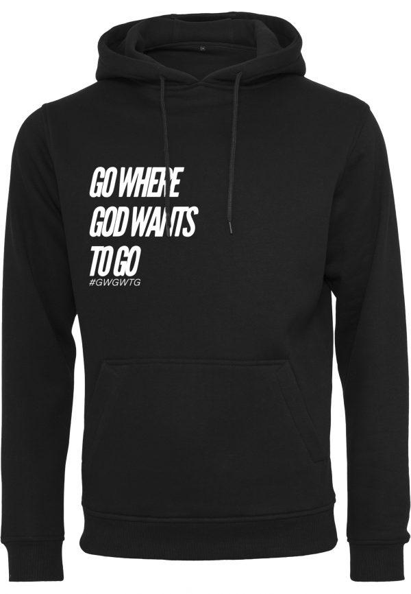 GWGWTG Hoodie Black Frontside